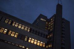 Leuchtschrift im Kantonsspital Baselland